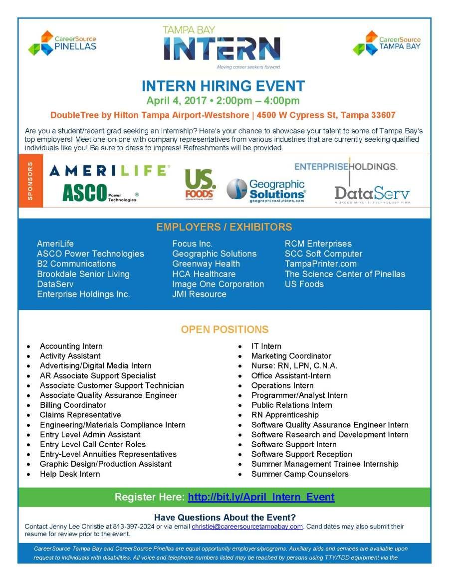 Internship Hiring Event Flyer_04.17